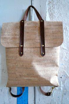 cork + leather