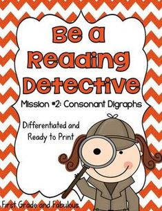 This pack was designed to differentiate instruction during morning work or intervention time for my first grade classroom. The word work in this p. Silent E, Sign Language Alphabet, Language Arts, Detective, Lucy Calkins Reading, Consonant Digraphs, Cvce Words, Blends And Digraphs, Reading Stations