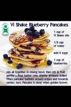 Visalus blueberry pancakes  http://jessicagustin.myvi.net