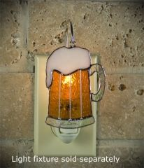 Switchables stained glass night light cover