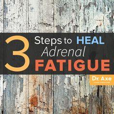 Heal Adrenal Fatigue Title