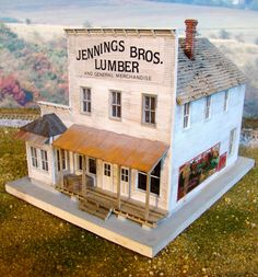 Model Railroad Galleries | ... : Professional custom model railroad builders - Structures page