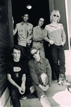 Radiohead on 1st US tour - Seattle, 1993-07-06 - By Karen Mason