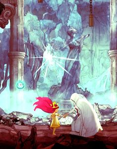 child of light by Serge Meirinho Character Concept, Concept Art, Character Design, Beautiful Artwork, Cool Artwork, Game Art, Psycadelic Art, Shadow Of The Colossus, Lit Wallpaper