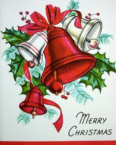 Early 1960s Vintage Christmas Card                                                                                                                                                                                 More