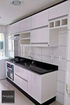 FERNANDEZ MÓVEIS PLANEJADOS Kitchen Design Small, Kitchen Models, Kitchen Remodel, Kitchen Decor, Kitchen Modular, Kitchen Furniture Design, Home Kitchens, Modern Kitchen Interiors, Kitchen Design