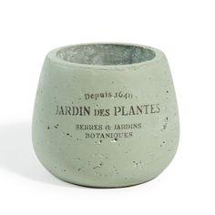 Cache-pot vert Bastide moyen modèle   Dimensions (cm) : H 12 x L 14  Réf. 142450 6.99E