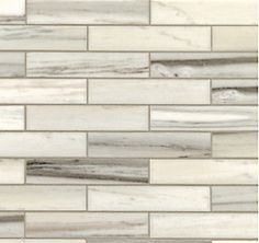 Walker Zanger - helsinki silver dusk 1 x 6 Brick Tile Backsplash, Kitchen Backsplash, Walker Zanger, Stone Tiles, Tile Design, Helsinki, Modern Interior, Kitchen Remodel, Kitchens