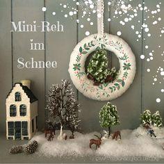 So ein Miniatur Winterwonderland lässt sich ganz einfach mit Figürchen aus dem Modellbauladen gestalten. Wie es geht, und worauf du achten musst, zeigen wir dir im Blog!