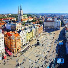 The city of Zagreb (Croatia), an old city with a young soul  #visiteurope #europe #croatia #visitcroatia #zagreb #city #citytrip #eurotrip #travelinspiration #wanderlust #travelgram #instatravel #balkans #beautiful #instagood #instapassport