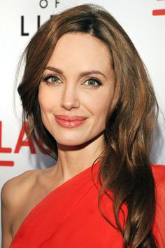 Angelina Jolie... Such a brave woman. So in admiration of the brave decision she's taken to have a double mastectomy, to hopefully extend her life for her family.
