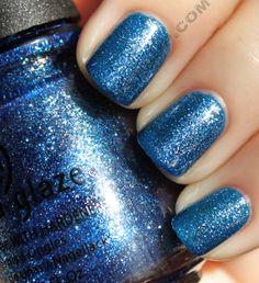 China Glaze: Dorothy Who? It's My new favorite nail polish. It's so pretty :)