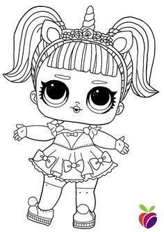 You can find here 12 free printable coloring pages of LOL Surprise Sparkle series dolls. Best coloring pages from different LOL Surprise series. Summer Coloring Pages, Barbie Coloring Pages, Disney Princess Coloring Pages, Disney Princess Colors, Unicorn Coloring Pages, Cute Coloring Pages, Cartoon Coloring Pages, Coloring Books, Dinosaur Coloring