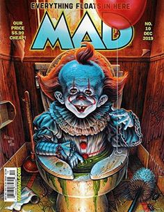 Vintage Comic Books, Vintage Comics, Vintage Toys, Mad Magazin, Now Magazine, Magazine Covers, Alfred E Neuman, Heavy Metal Art, Mad World