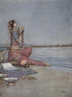 """w. heath robinson: bombay, 1909.  (for kipling's """"the song of the english"""")"""