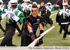 The Cavaliers Drum and Bugle Corps at the 2010 DCI World Class Quarterfinals Love those boys :) #Teagardins #SmokeShop 8531 Santa Monica Blvd West Hollywood, CA 90069 - Call or stop by anytime. UPDATE: Now ANYONE can call our Drug and Drama Helpline Free at 310-855-9168. Teagardins.com