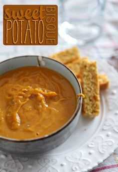 Sweet Potato Bisque // The Speckled Palate