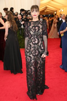 Met Gala 2014 - Amanda Peet in Marc Jacobs
