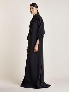 Thamanyah Women's Dervish Collar Mawlana Kandora Dress