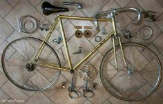 Disassembly Olmo Gentleman Z Campagnolo Nuovo Gran Sport and Ofmega groupset - restored by Fabio Amico Torino - amifab21@hotmail.it