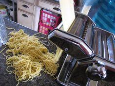 Food Storage and Making Homemade Spaghetti Pasta | Food Storage Moms
