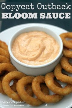 Copycat Outback Bloom Sauce. Hubby's been craving this lately.