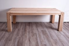 Lovely robust oakwood dining table | Rustic furniture, rustic design, rustic home