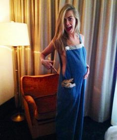 Cara Delevingne shows off a baby bump on Instagram