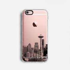 Seattle Skyline iPhone 6 case iPhone 6s case iPhone by Agathecase