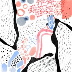 Miji Lee - abstract pattern