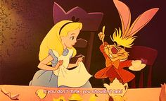 """Plus they're so MEAN. 