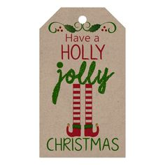 Shop Have A Holly Jolly Christmas - Homemade Gift Tags created by hungaricanprincess. Personalize it with photos & text or purchase as is! Holiday Gift Tags, Handmade Christmas Gifts, Homemade Christmas, Christmas Crafts, Christmas Ideas, Christmas Neighbor, Christmas Decorations, Christmas Labels, Holiday Ideas