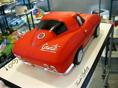 Birthday Cakes Birthdays And Corvettes On Pinterest