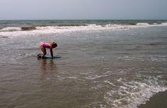Taylor loves soaking up the sun on the South Carolina coast!