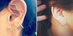 Jacquie Aiche Ear Jackets, accessories, diamonds, earrings, gold