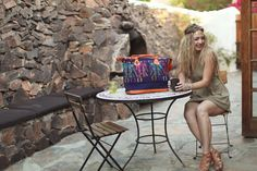 Two of my favorite things. Our Nim(med) bag, made from hand woven huipil and a cup of tea! Photography by Gina Lee