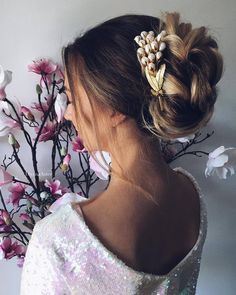 Wedding Updo Hairstyles for Long Hair from Ulyana Aster_26 ❤ See more: http://www.deerpearlflowers.com/wedding-updo-hairstyles-for-long-hair-from-ulyana-aster/2/