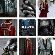 House Glover, Lords of Deepwood Motte, Sworn to Stark House Glover is a noble house from the north and is among the principal houses sworn to Winterfell, their sigil is a silver mailed fist on scarlet. Deepwood Motte is located in the northwestern wolfswood north west of Winterfell. The Clans Bole, Branch, Forrester, and Woods of the wolfswood are sworn to the Glovers. The Glovers ruled as First Men kings after the Long Night, but they were eventually reduced to vassals by House Stark.