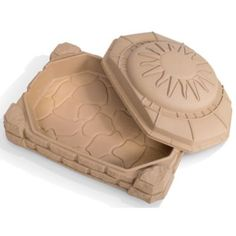 Step 2® Naturally Playful™ Sandbox - Available on Craigslist for $30-$40, and sand goes for $4.99/20kg bag (about $25 to fill this bad boy up).