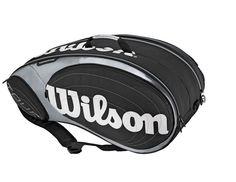 Tennis Bag Racquet 9 H/ Racket Babolat Wilson Case Black Cover Head Tour Team