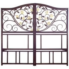 Edgar Brandt Gates | From a unique collection of antique and modern doors and gates at https://www.1stdibs.com/furniture/building-garden/doors-gates/