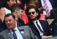 Kit Harington at Wimbledon
