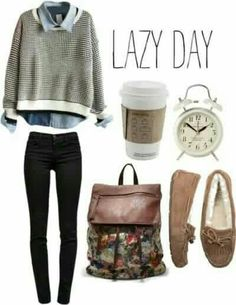 Lazy day | Comfy and stylish casuals | Awesome fashion clothes for stylish women from Zefinka.