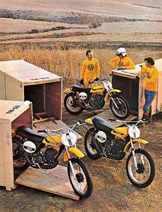 1973- Suzuki TM Series Magazine Ad