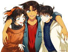 - - Page 2 - Wattpad Magic Kaito, Heiji Hattori, Detective Conan Ran, Detektif Conan, Detective Conan Wallpapers, We Bare Bears Wallpapers, Kaito Kid, Gosho Aoyama, Kudo Shinichi