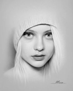 Amazing Photorealistic Color and Lead Pencil Drawings by Art Teacher – Designbolts Pencil Portrait Drawing, Realistic Pencil Drawings, Portrait Sketches, Realistic Paintings, Pencil Art Drawings, Portrait Art, Cool Drawings, Drawing Sketches, Painting & Drawing