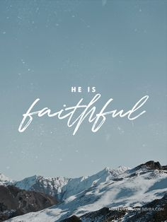 He is faithful - 1 John 1:9 #30DaysOfBibleLettering