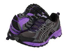 Tiffany's ASICS GEL-Kahana® 6 Titanium/Black/Electric Purple Sneakers #fitness #sports #sneakers