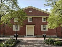 The Arch Street Meeting House is an historic Quaker meeting house built on land deeded by William Penn in 1701.