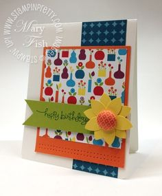 Love this card and this site!  So full of GREAT ideas!  Happy stamping! :o)